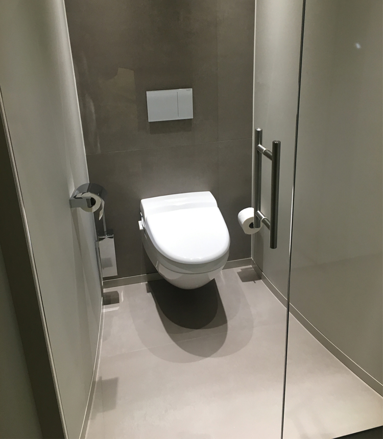 Badkamer en toilet appartement Roermond