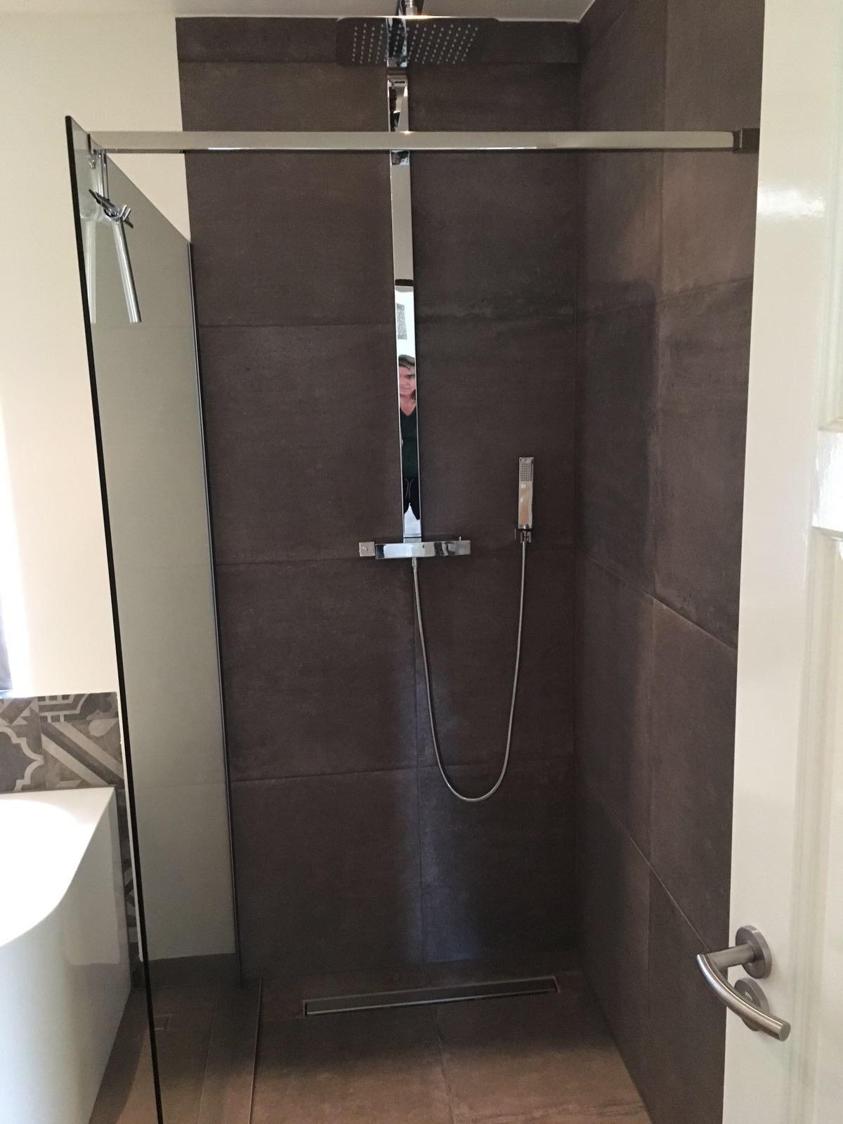 Badkamer tegelwerk te Someren